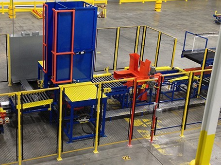Automated Pallet Flipper Automated Machine Systems
